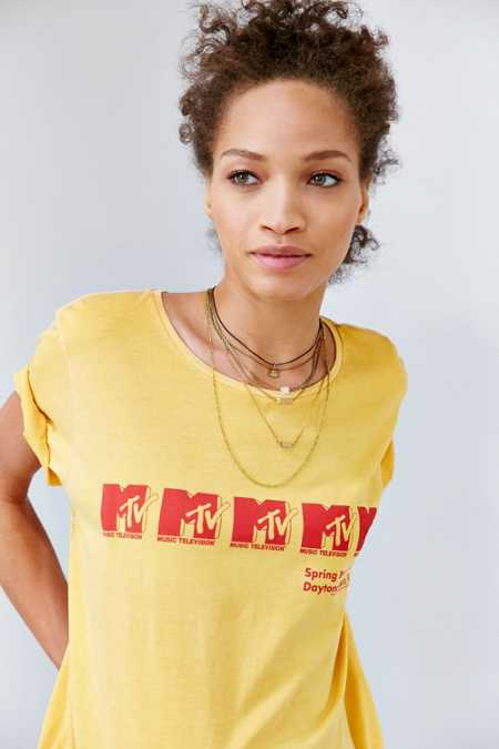 Junk Food MTV Spring Break Tee