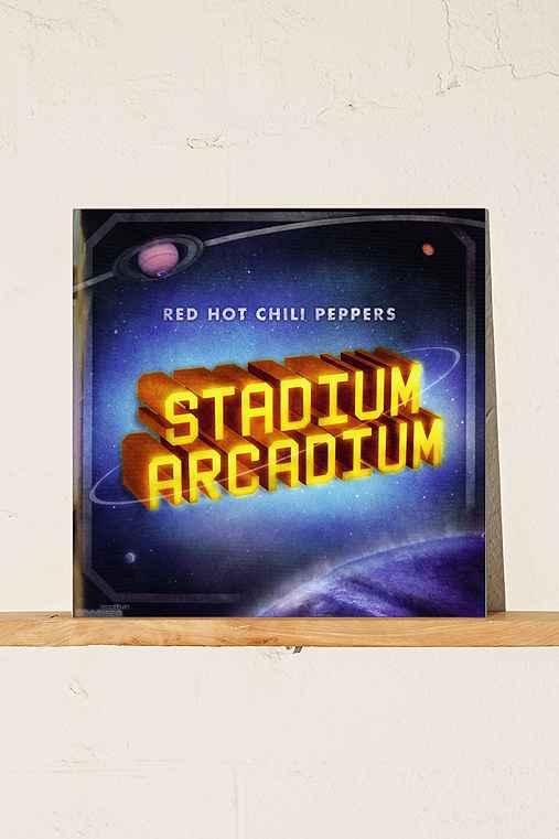 Red Hot Chili Peppers - Stadium Arcadium 4XLP,BLACK,ONE SIZE