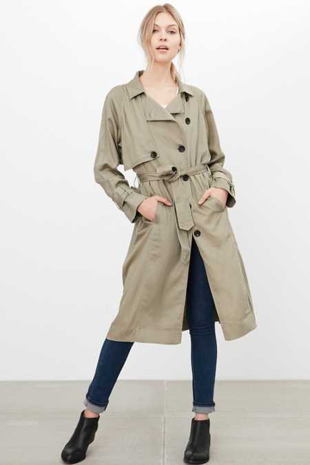 Silence + Noise Lauren Duster Trench Coat (Click to Search!)