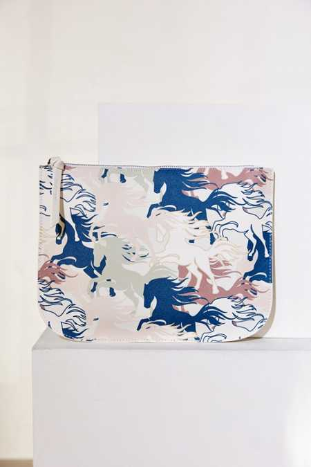 Large Printed Pouch
