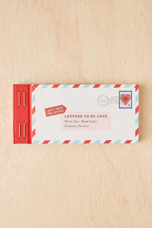 Letters To My Love Stationery Set,RED,ONE SIZE