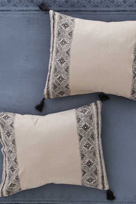 Magical Thinking Esrin Block Print Flannel Sham Set