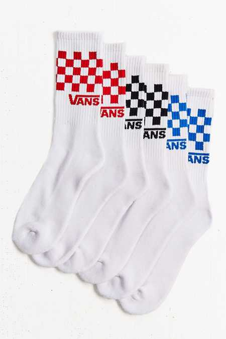 Vans Checkerboard Sock 3-Pack