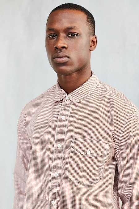 CPO Micro Gingham Button-Down Shirt