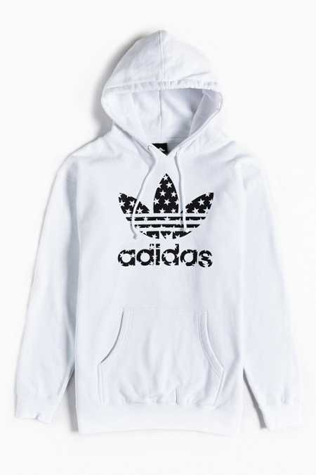 adidas Star Filled Pullover Hoodie