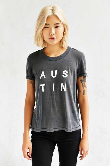 Truly Madly Deeply Austin Pigment Tee