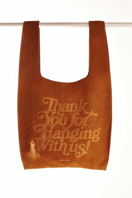 UO Suede Thank You Bag