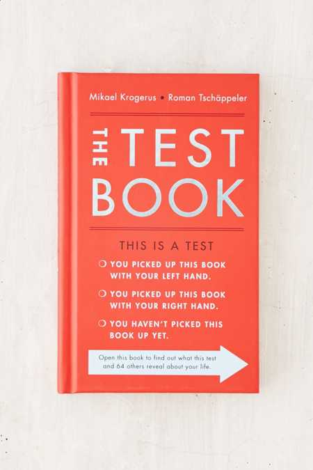 The Test Book: 64 Tools To Lead You To Success By Mikael Krogerus & Roman Tschappeler