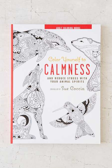 Color Yourself To Calmness And Reduce Stress With Your Animal Spirits By Sue Coccia