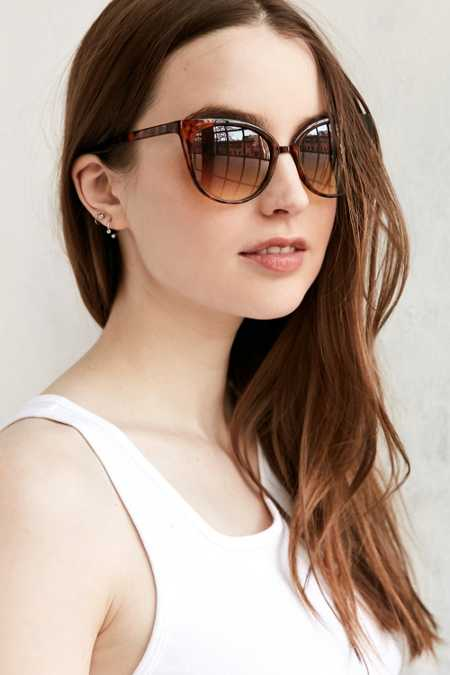 Marley Petite Cat-Eye Sunglasses