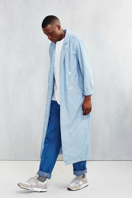 CPO Washed Indigo Duster Jacket