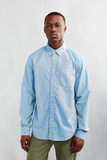 CPO Garment Overdyed Oxford Button-Down Shirt