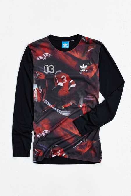 adidas Classic Team AOP Long-Sleeve Tee