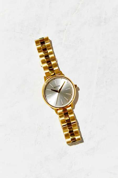 Nixon Kensington Gold + White Watch
