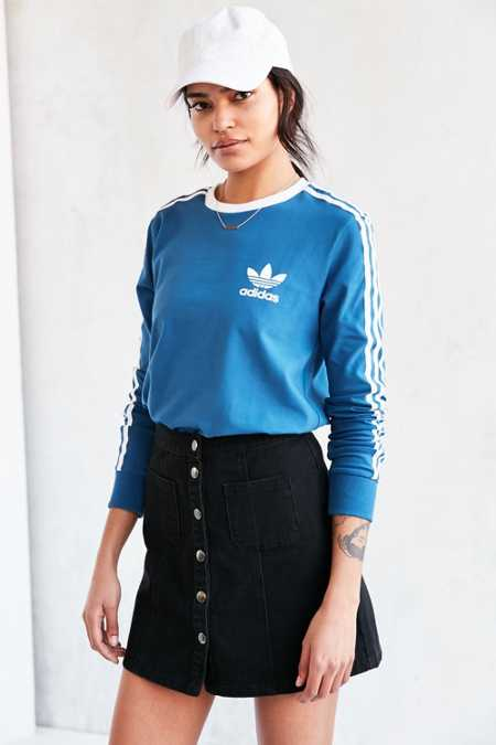 adidas Originals 3 Stripes Long-Sleeve Tee