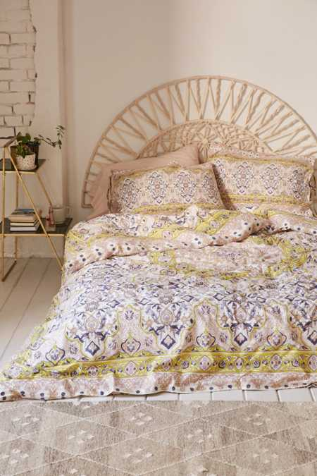 Plum & Bow Anza Tiled Duvet Cover