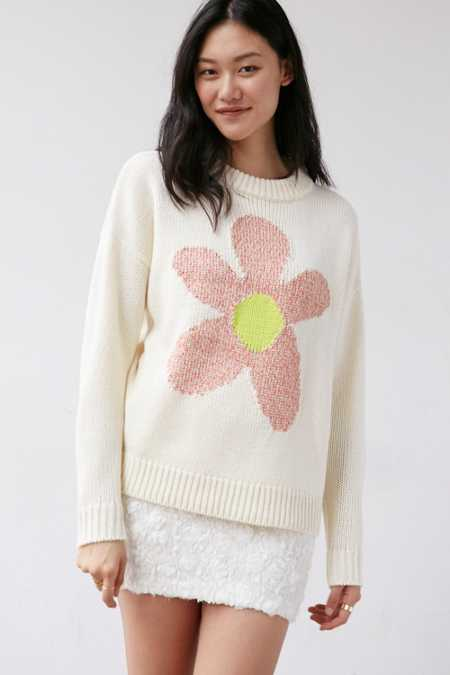 Cooperative Daisy Oversized Pullover Sweater