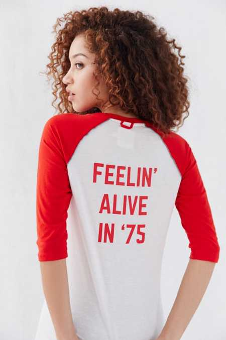 Camp Collection Feelin' Alive Raglan Tee