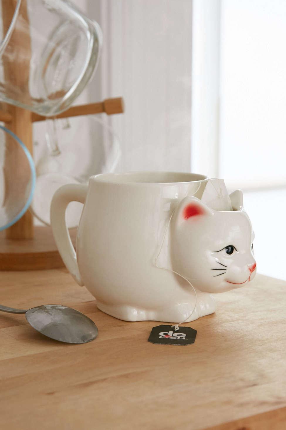 Meow Cat Coffee Mug