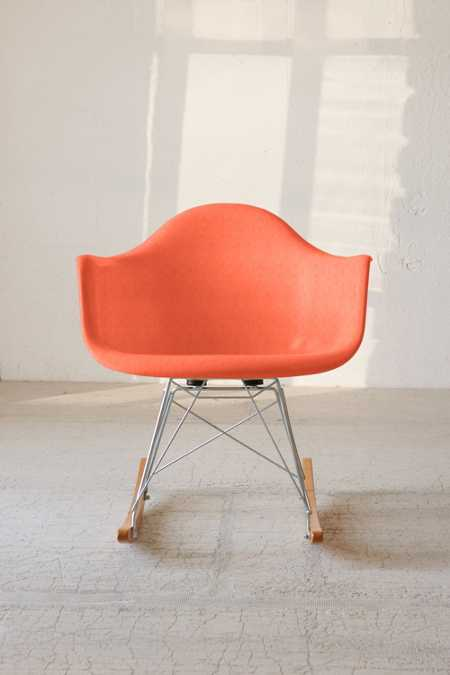 Modernica Fiberglass Arm Shell Rocking Chair