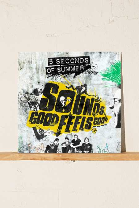 5 Seconds Of Summer - Sounds Good Feels Good LP