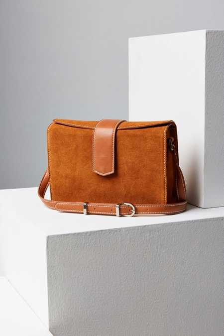 Cooperative Tab Box Crossbody Bag