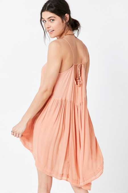 Ecote Ever After Gauze Swing Dress