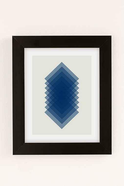Angela Ferrara Sky Slices Art Print,BLACK MATTE FRAME,8X10