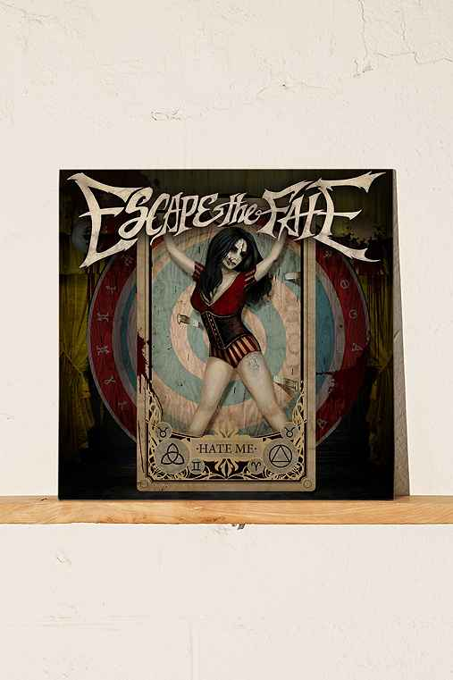 Escape The Fate - Hate Me LP,BLACK,ONE SIZE