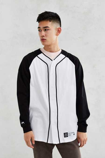 Stussy Long-Sleeve Baseball Tee
