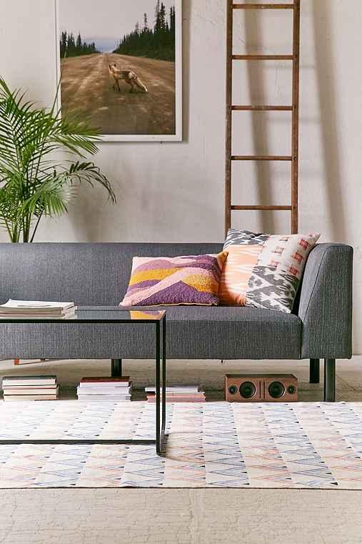 Benson Modern Sofa,GREY,ONE SIZE