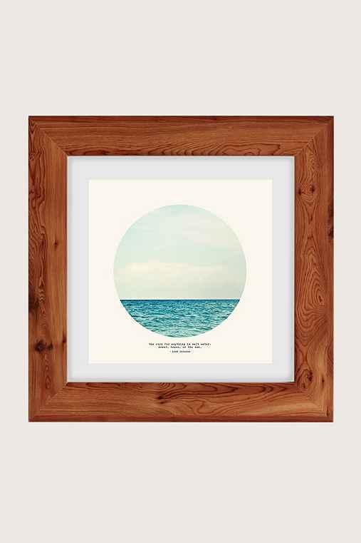 Tina Crespo Salt Water Cure Art Print,CEDAR,44X44