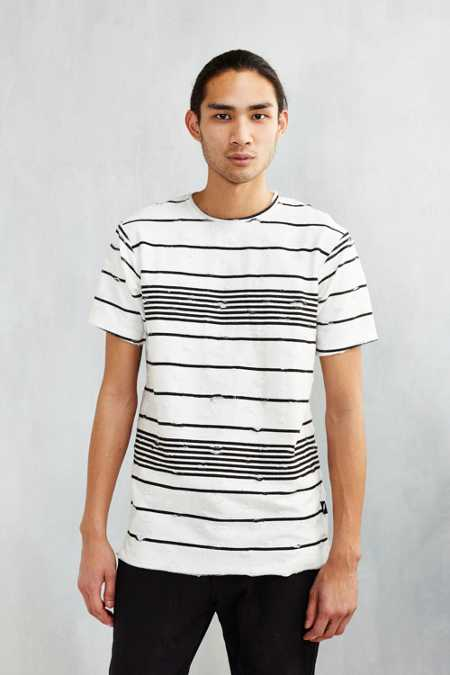 Publish Pascoe Destroyed Stripe Tee