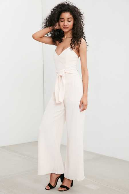 Keepsake Get Free Strapless Jumpsuit