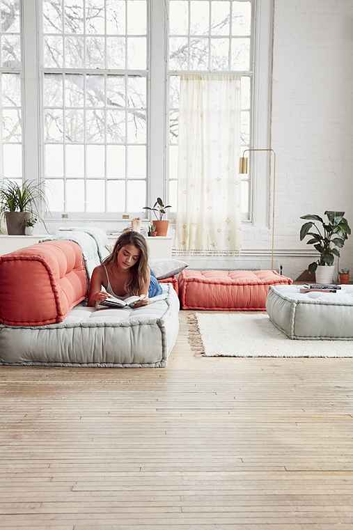 reema floor cushion urban outfitters. Black Bedroom Furniture Sets. Home Design Ideas