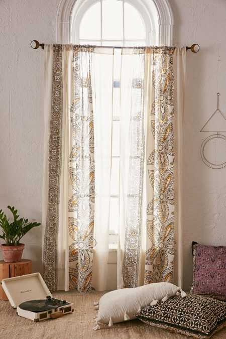 Amita Oversized Floral Curtain