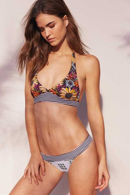 Out From Under Printed Wide Band Bikini Bottom
