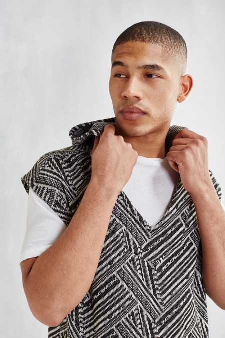 Shades of Grey By Micah Cohen Sleeveless Baja Hoodie Sweatshirt