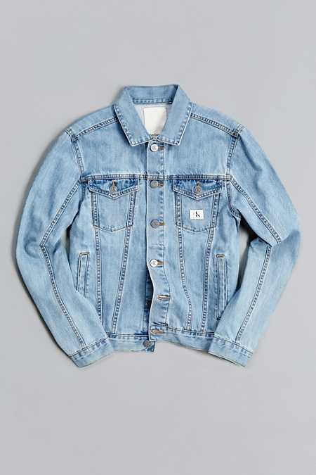 Calvin Klein X UO Re-Issue Denim Trucker Jacket