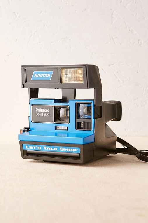 Impossible Let's Talk Shop Rare Polaroid Camera,BLACK,ONE SIZE