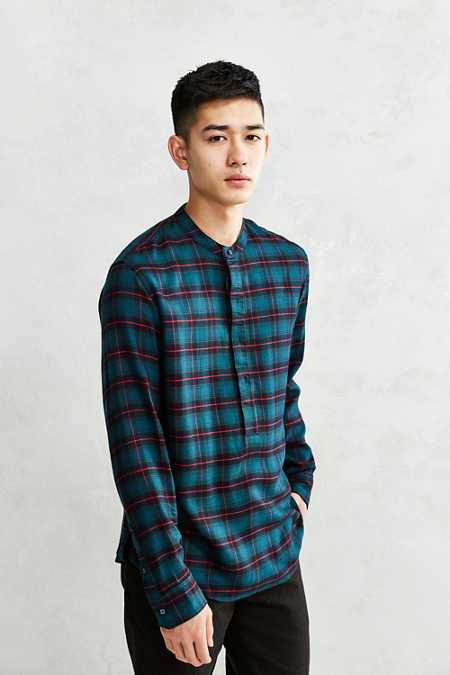 Publish Sean Plaid Popover Shirt