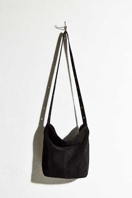 Ecote Suede Drape Shoulder Bag