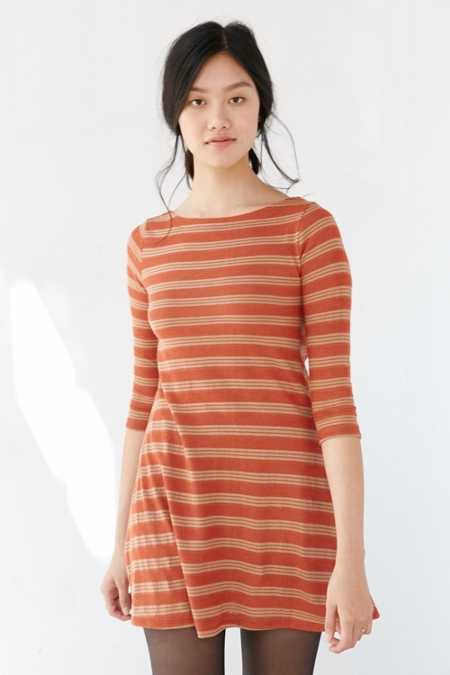 BDG Boaty Striped T-Shirt Dress