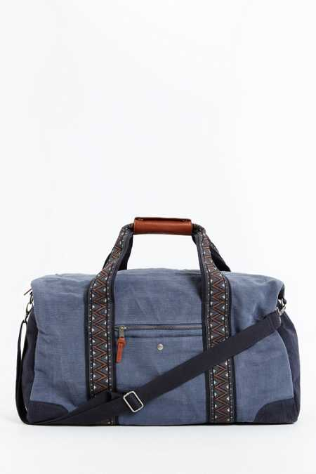 Mosson Bricke Linen Duffel Bag