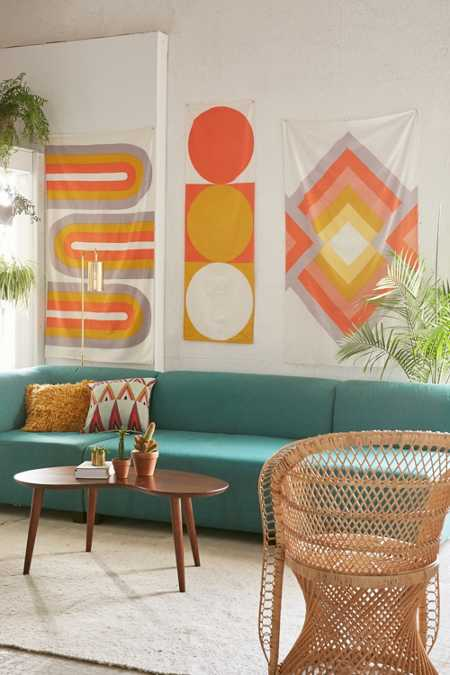 Assembly Home Sandra Sunsurf Triptych Tapestry