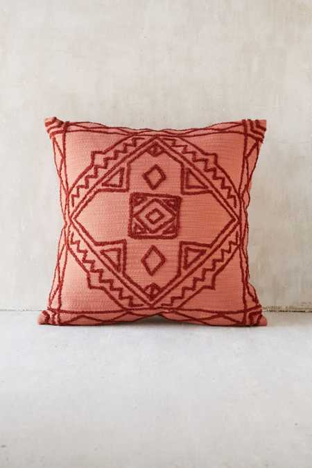 Magical Thinking Roya Crewel Tonal Pillow