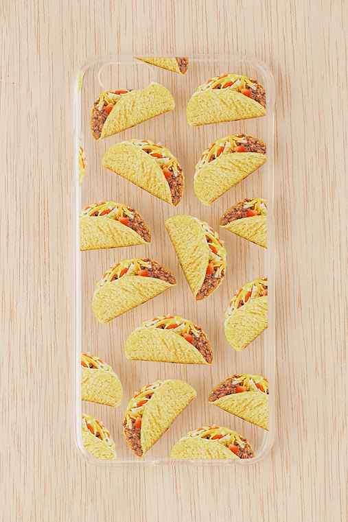Skinnydip I Love Tacos iPhone 6/6s Case,CLEAR,ONE SIZE