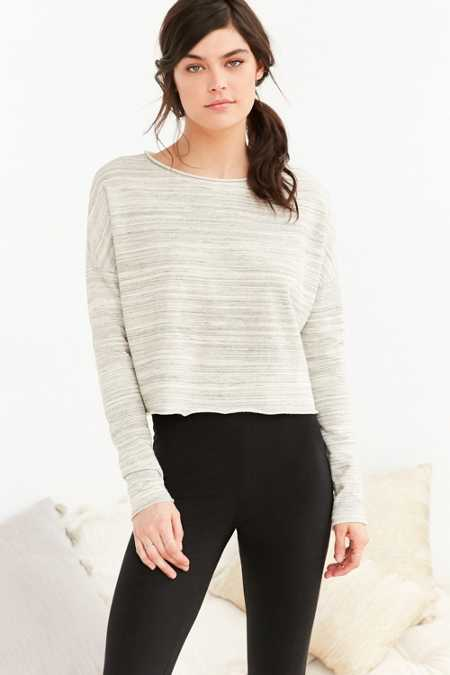 Project Social T Hang Out Cropped Sweatshirt