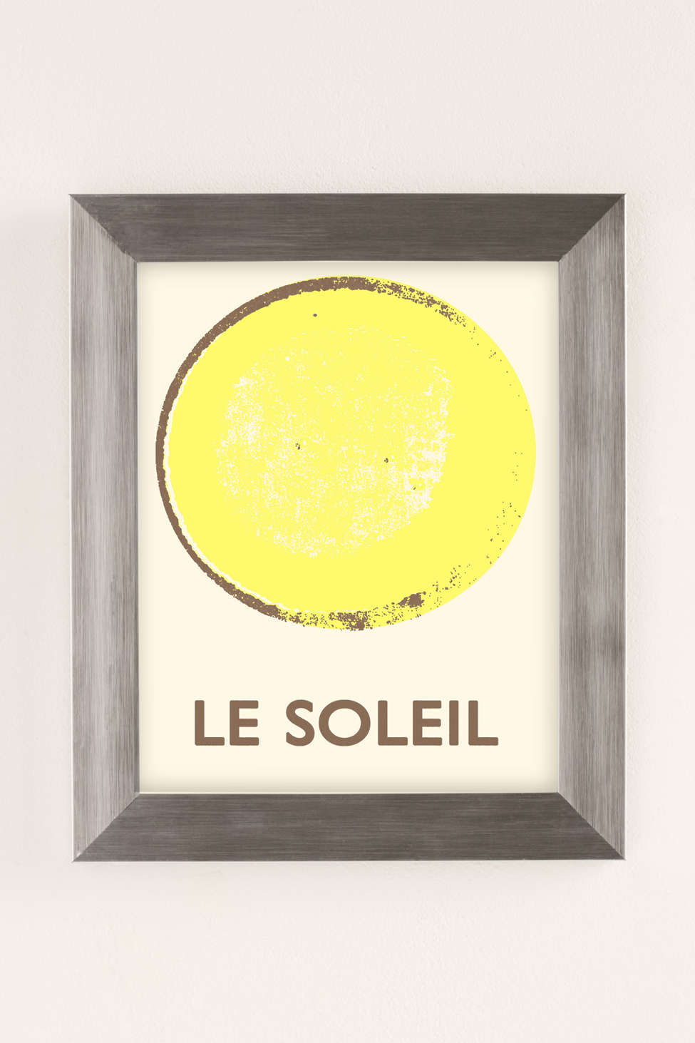 Double Merrick Le Soleil Art Print - Urban Outfitters