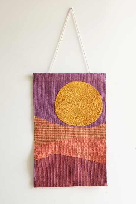 Magical Thinking Layered Landscape Wall Hanging